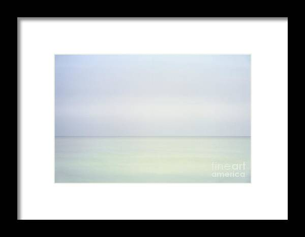 Change Framed Print featuring the photograph Ocean Horizon by John Greim