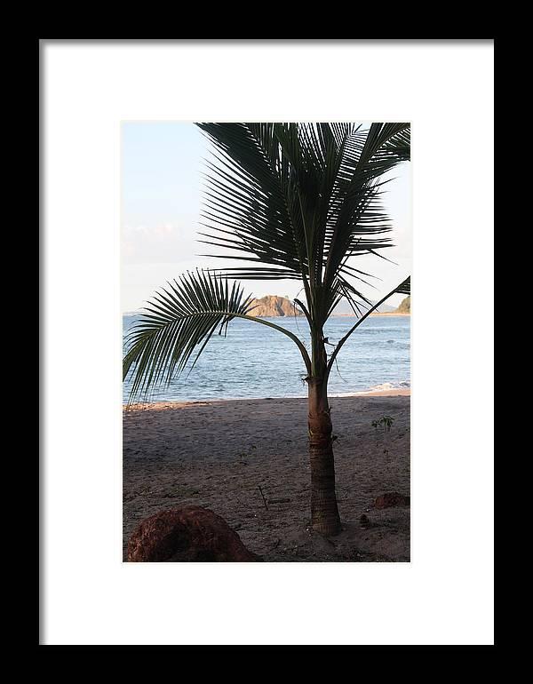 Ocean Framed Print featuring the photograph Ocean View by Paula Thomas