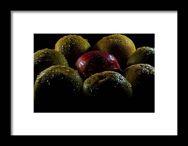 Fruits Framed Print featuring the photograph Odd Among The Even by Aravind Arivalagan