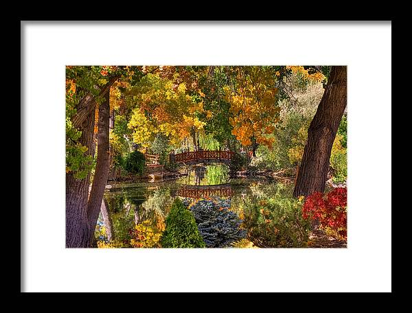 Autumn Framed Print featuring the photograph Ode To Autumn by Donna Kennedy