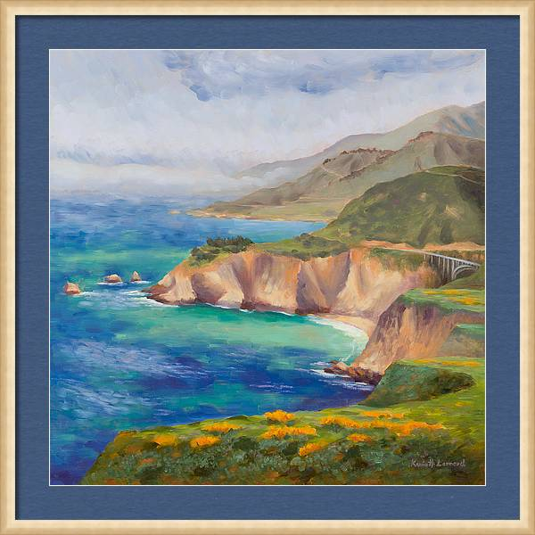 Ode to Big Sur by Karin  Leonard