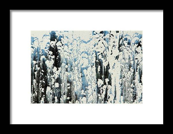 Architecture Framed Print featuring the photograph Of Snow And Clouds by Marilyn Cornwell