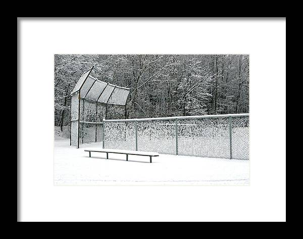 Winter Framed Print featuring the photograph Off Season by Ann Horn