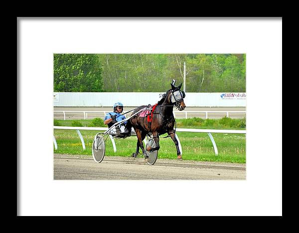 Framed Print featuring the photograph Off The Ground by Brian OSullivan