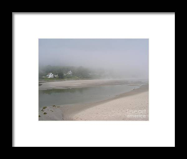 Landscape Framed Print featuring the photograph Ogunquit River Maine by Joy Bradley