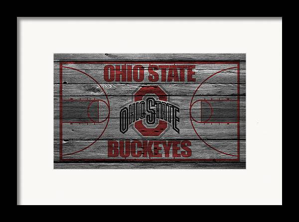 Buckeyes Framed Print featuring the photograph Ohio State Buckeyes by Joe Hamilton
