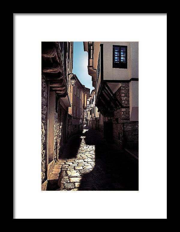 Ohrid Framed Print featuring the photograph Ohrid Streets by Ivan Vukelic