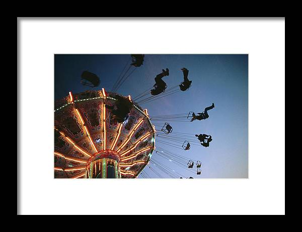 Event Framed Print featuring the photograph Oktoberfest Style Event In September by Thomas Winz