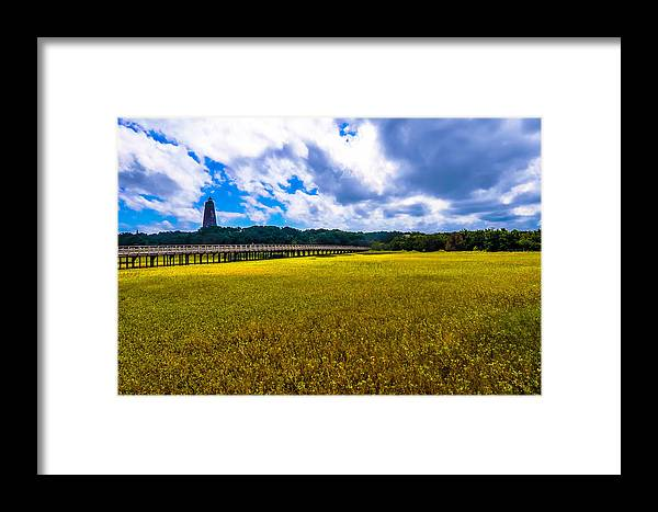 Lighthouse Framed Print featuring the photograph Old Baldy by Salt Spray Photography