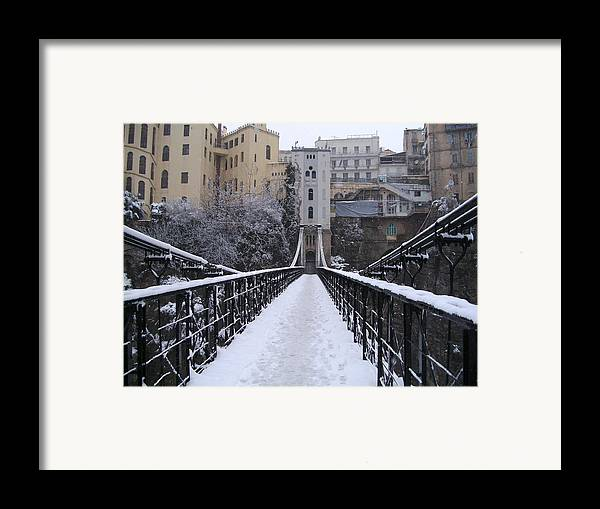 Old Bridge Of Constantine Framed Print by Boultifat