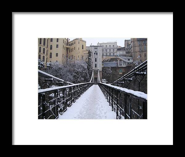 Kitchen Art America Brooklyn Ny: Old Bridge Of Constantine Framed Print By Boultifat