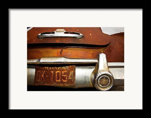Buick Framed Print featuring the photograph Old Buick by Mark Weaver