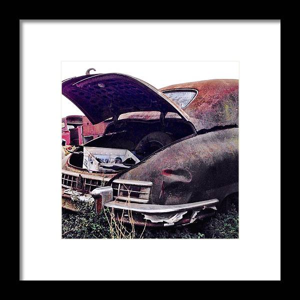 Classic Car Framed Print featuring the photograph Old Car by Julie Gebhardt