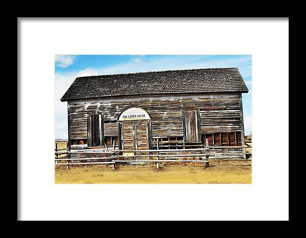 Old Church Framed Print featuring the photograph Old Church by Kae Cheatham
