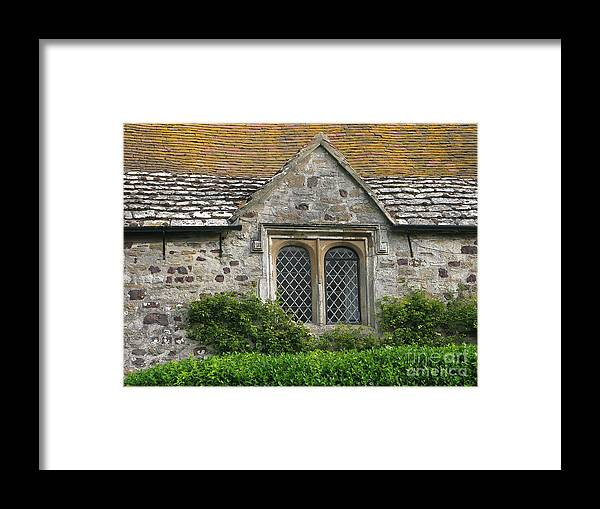 England Framed Print featuring the photograph Old English by Ann Horn