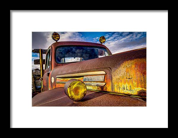 Ford Framed Print featuring the photograph Old Ford by Christian Peay