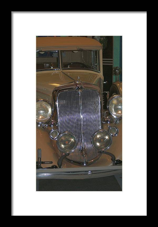 Antique Framed Print featuring the photograph Old Grill by Rob Luzier