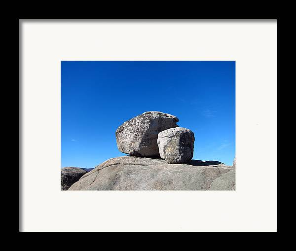 Old Framed Print featuring the photograph Old Rag Hiking Trail - 121240 by DC Photographer