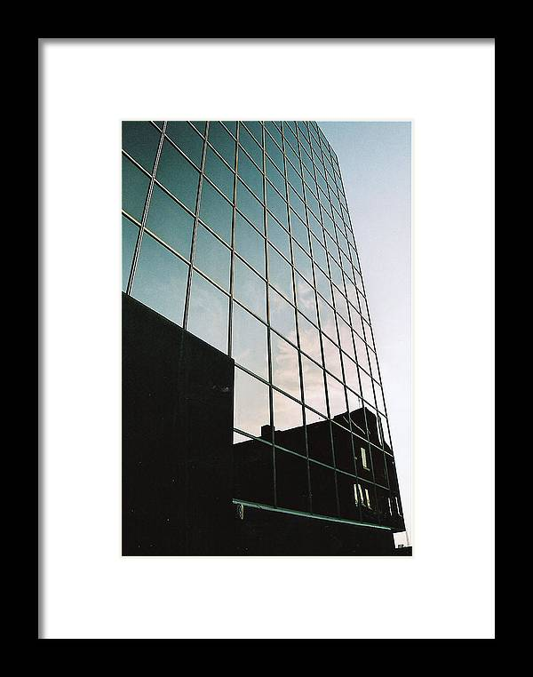 Framed Print featuring the photograph Old Reflections by Matthew Barton