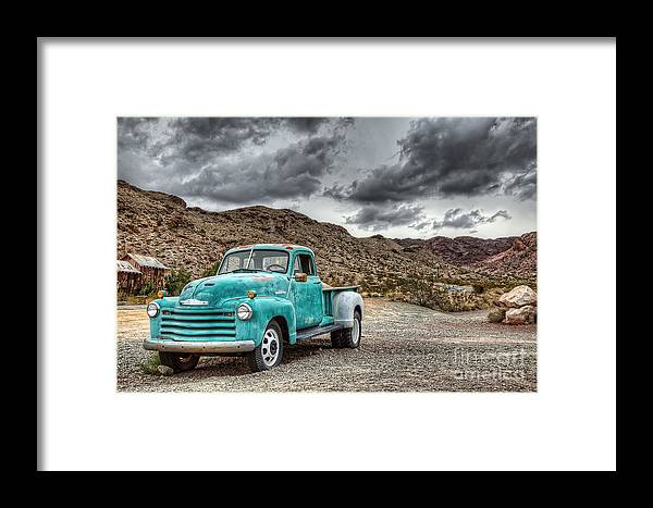 Old Framed Print featuring the photograph Old Reliable by Eddie Yerkish