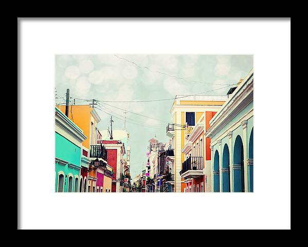 San Juan Framed Print featuring the photograph Old San Juan Special Request by Kim Fearheiley