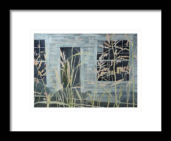 Catawba County Framed Print featuring the painting Old Store At June Bug Road by Joel Deutsch
