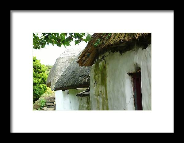 Thatch Framed Print featuring the photograph Old Style by Charlie and Norma Brock