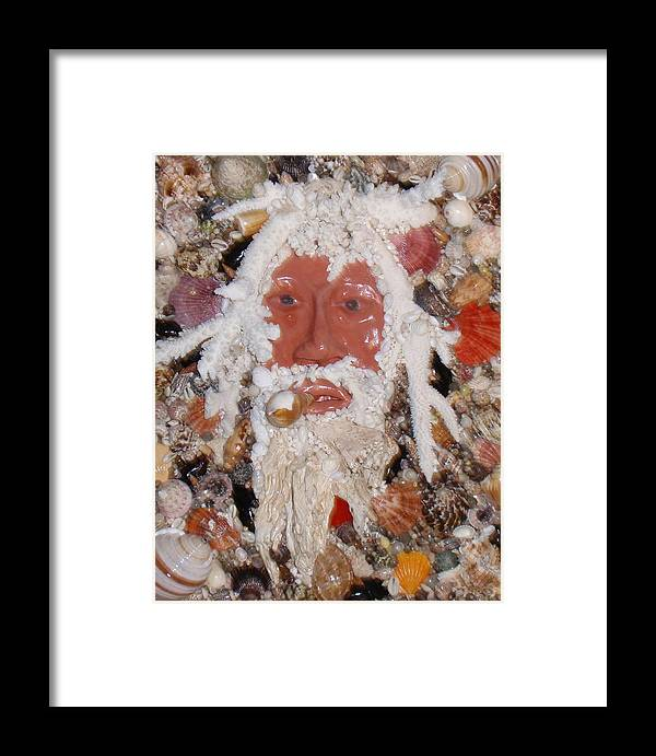Seashells Framed Print featuring the mixed media Old Timer by Ben Sivells