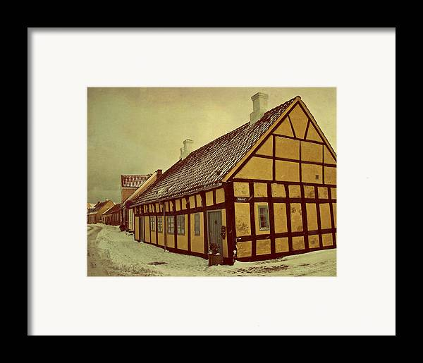 Town Framed Print featuring the photograph Old Town by Odd Jeppesen