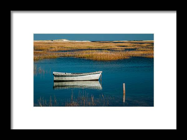Boat Framed Print featuring the photograph Olde Cape Cod by Fred LeBlanc