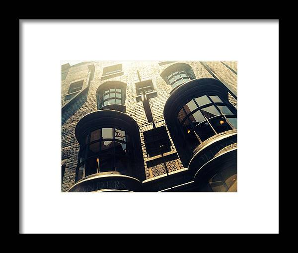 Hogwarts Framed Print featuring the photograph Ollivander's Shoppe by Jacqueline Ross