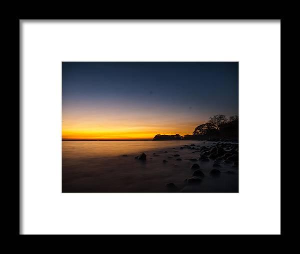 Ometepe Framed Print featuring the photograph Ometepe Lake Mist by Tyler Lucas