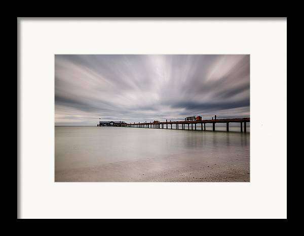 Usa Framed Print featuring the photograph On A Stormy Day by Claudia Domenig