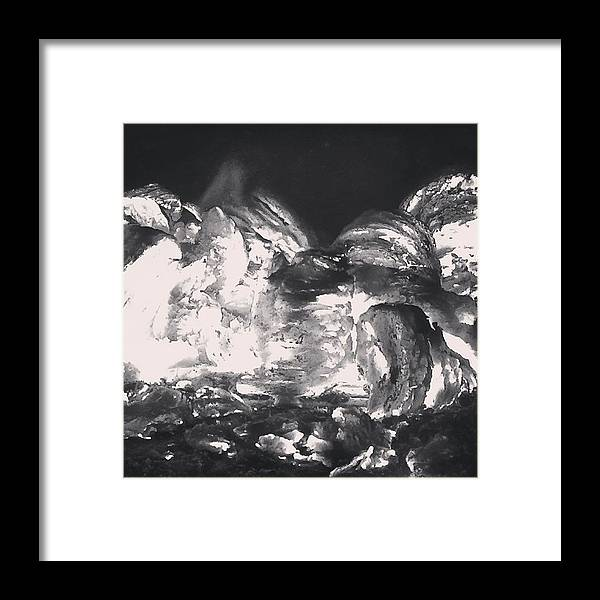 Fire Framed Print featuring the photograph On Fire by Illusorium Illustration