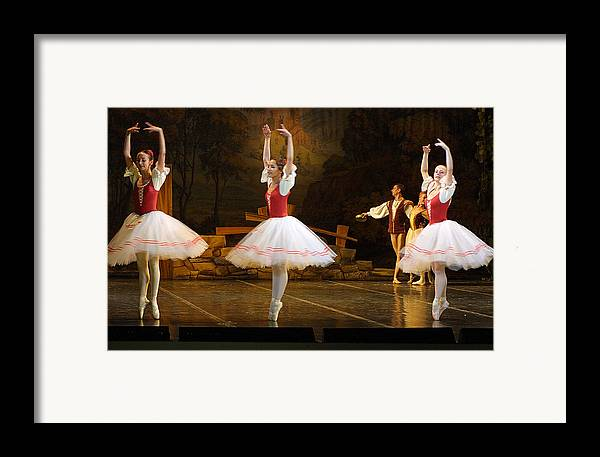 Travel Framed Print featuring the photograph On Point Russian Ballet by Linda Phelps