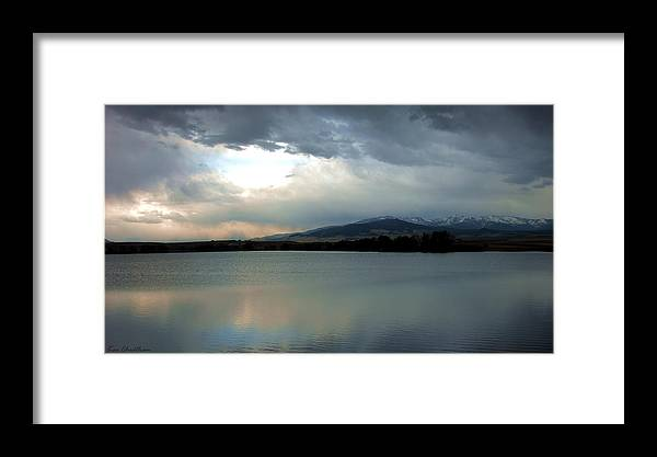 Water Framed Print featuring the photograph On Reflection by Kae Cheatham