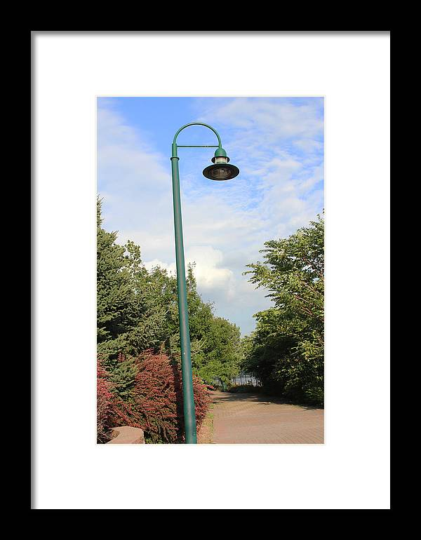 City Framed Print featuring the photograph On The Way by Magda Levin-Gutierrez