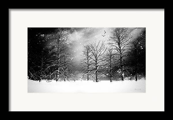 Winter Framed Print featuring the photograph One Night In November by Bob Orsillo