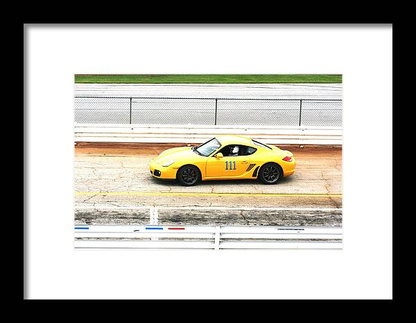 Road Atlanta Framed Print featuring the photograph One One One by Stacy C Bottoms