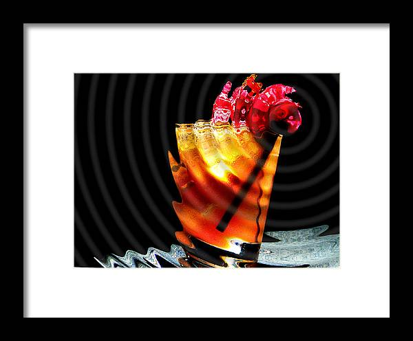 Bar Framed Print featuring the photograph One Too Many by Lyle Barker