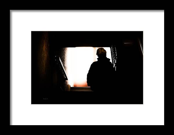 Bob Orsillo Framed Print featuring the photograph One Way Out by Bob Orsillo