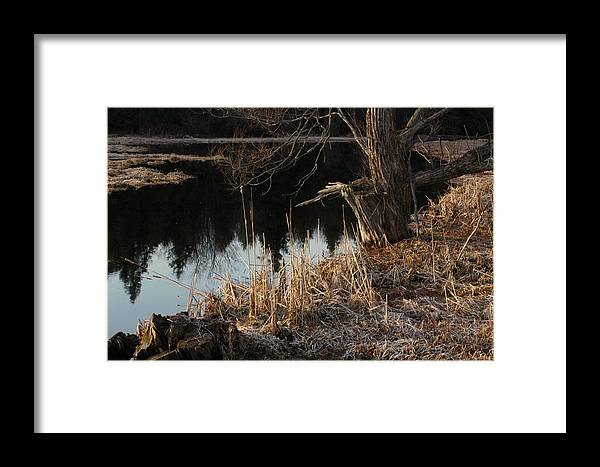 Reflections Framed Print featuring the photograph Ontario Landscape 1 by Jim Vance