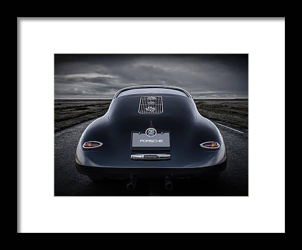 Classic Framed Print featuring the digital art Open Road by Douglas Pittman