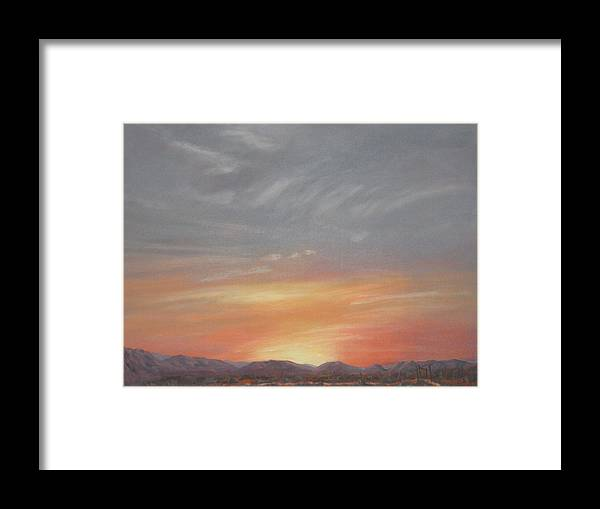 Western Framed Print featuring the painting Open To All by Janis Mock-Jones