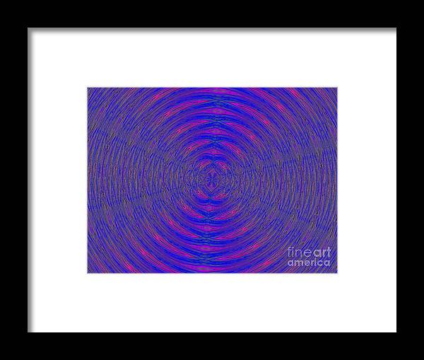 Abstract Framed Print featuring the photograph Opposing Forces by Robyn King
