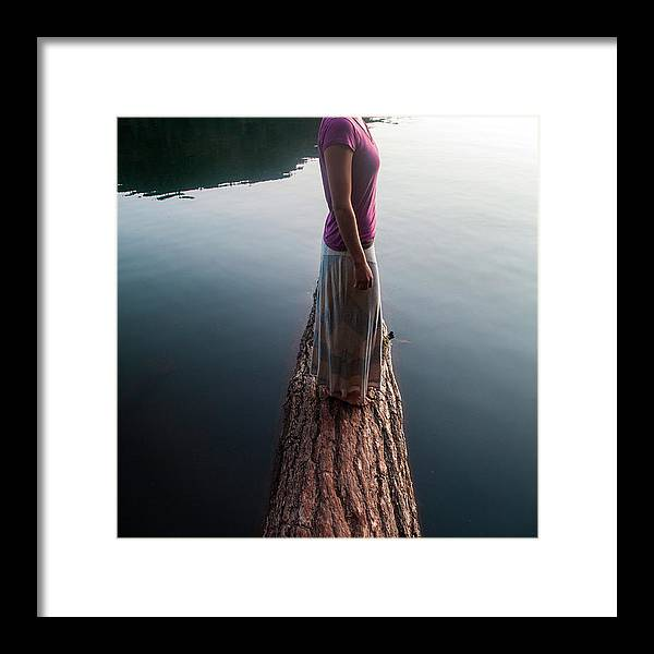 Lake Framed Print featuring the photograph Orcas Island, San Juan Islands by David Hanson