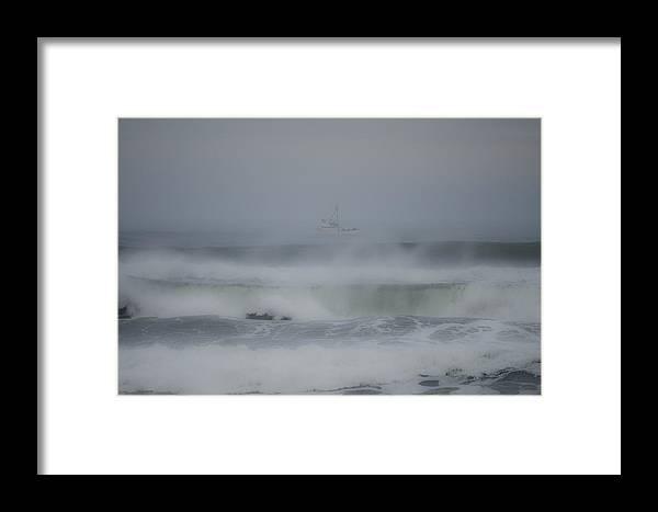 Oregon Framed Print featuring the photograph Oregon Boat by Mark Dornblaser
