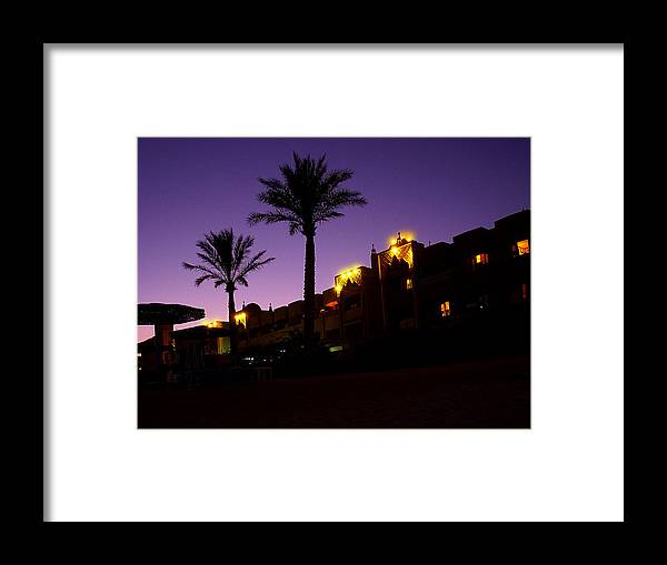Oriental Night Framed Print featuring the photograph Oriental Night by Irina Effa