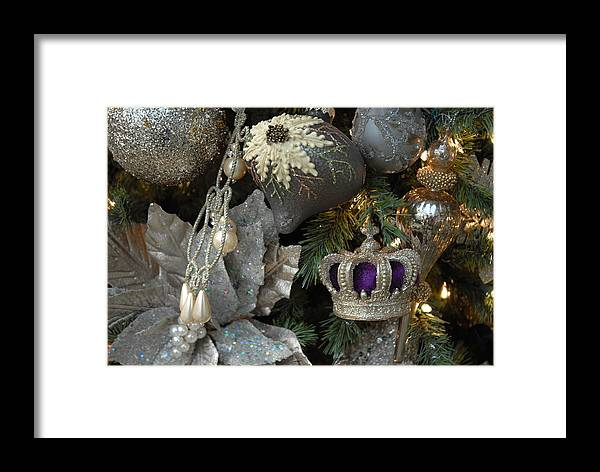 Christmas Ornament Ornament Framed Print featuring the photograph Ornament 164 by Joyce StJames