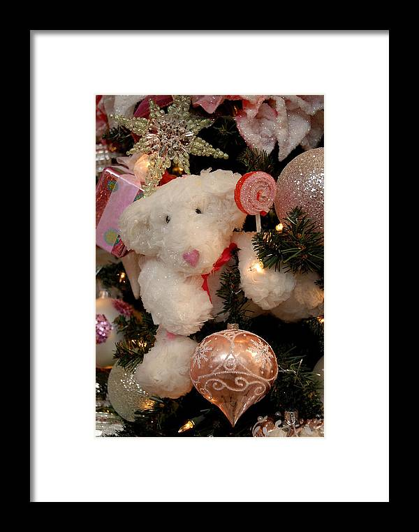 Christmas Ornament Ornament Framed Print featuring the photograph Ornament 168 by Joyce StJames